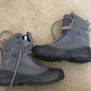 Columbia cold weather rubber toe isolat boot